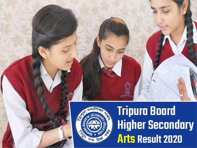 Tripura Board Higher Secondary (12th) Arts Result 2020