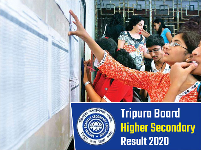 Tripura Board Higher Secondary (HS + 2) Result 2020