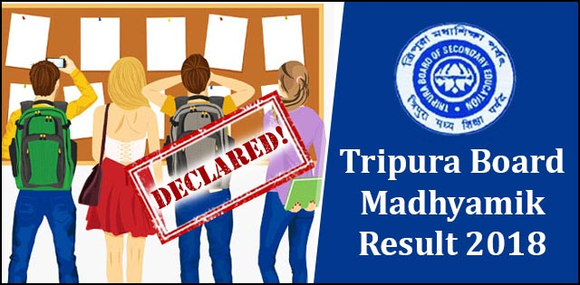 TBSE 10th Result 2018