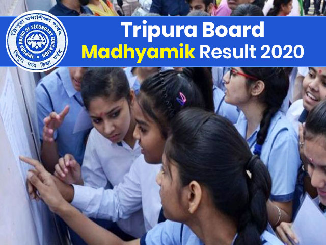 Tripura Board Madhyamik (10th) Result 2020