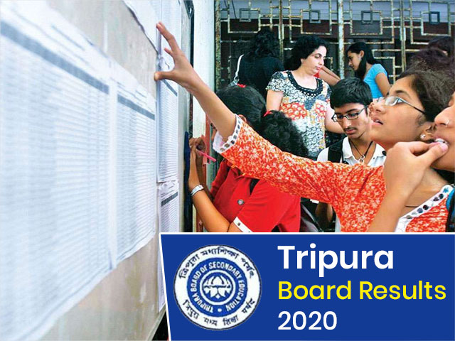 Tripura Board (10th/12th + HS) Result 2020