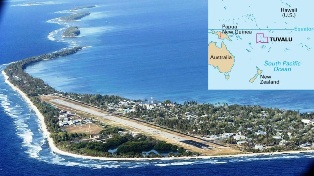 Tuvalu smallest country