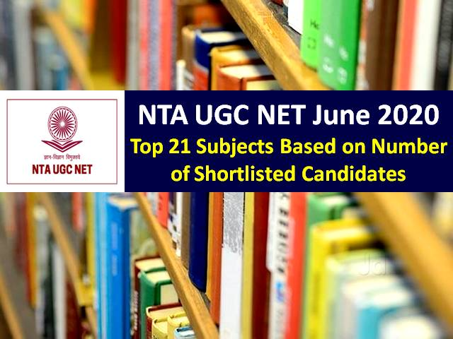 UGC NET 2020 Registration Date Extended: Check Top 21 Subjects List-Commerce, History, Political Science, Hindi amongst Top 5