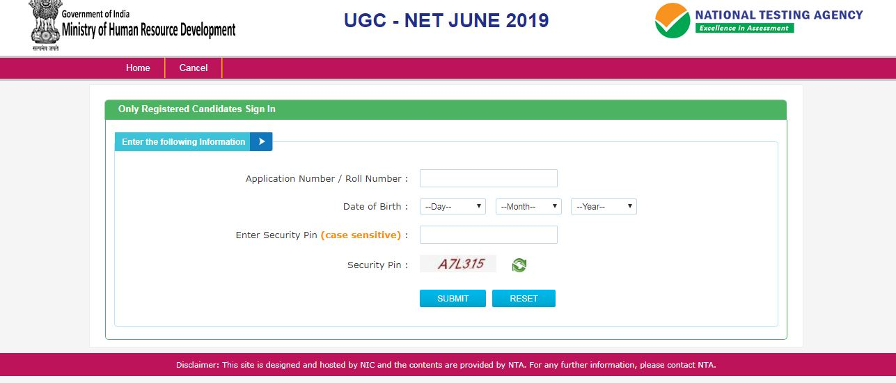 UGC NET June 2019 Result