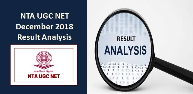 NTA UGC NET Dec 2018 Result Analysis and Cut-Off