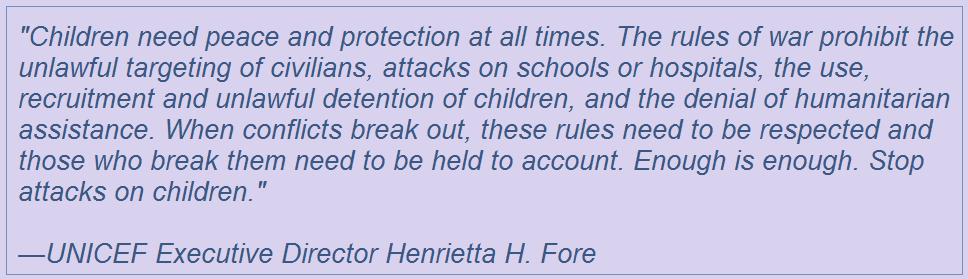 UNICEF-quotation