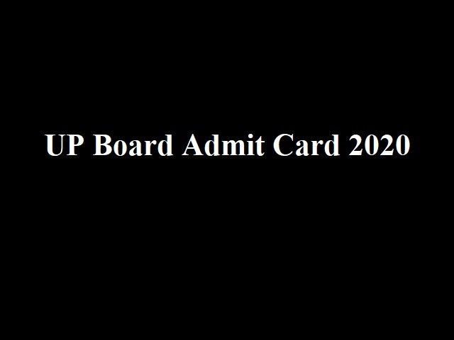 UP Board Admit Card for 10th and 12th in Hindi