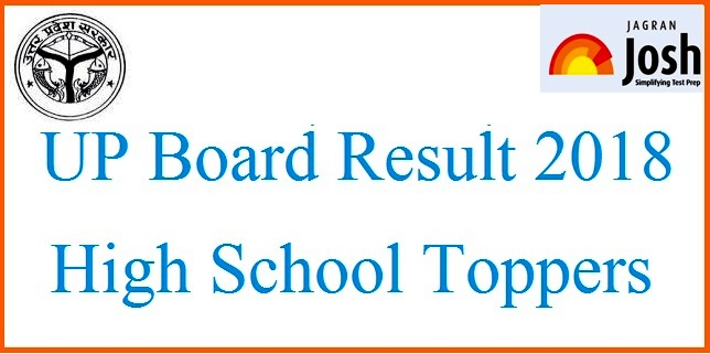UP Board High School Topper 2018