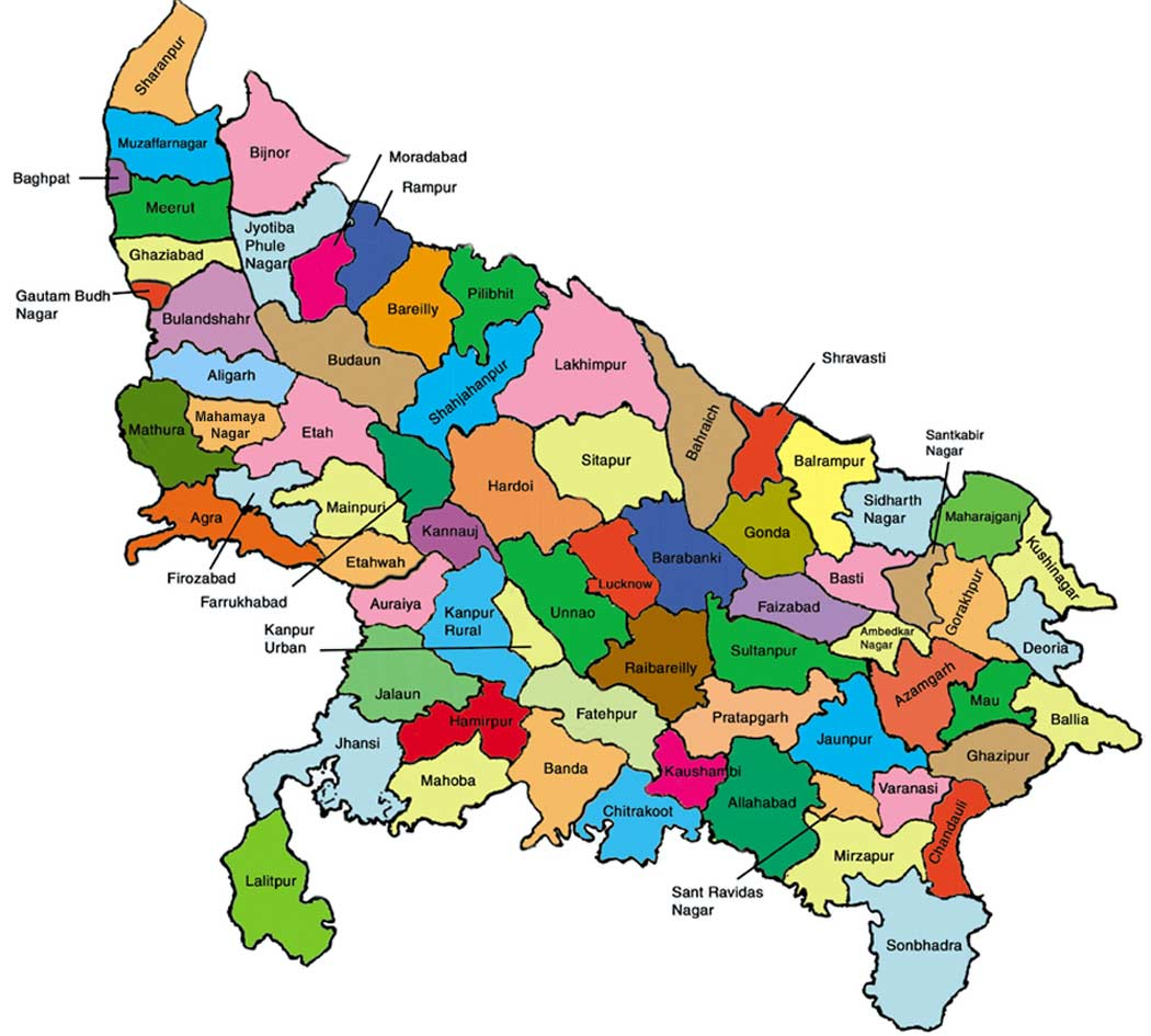 DISTRICTS OF UTTAR PRADESH EPUB
