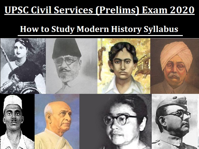 UPSC Civil Services (Prelims) 2020: How to Study Modern History Syllabus