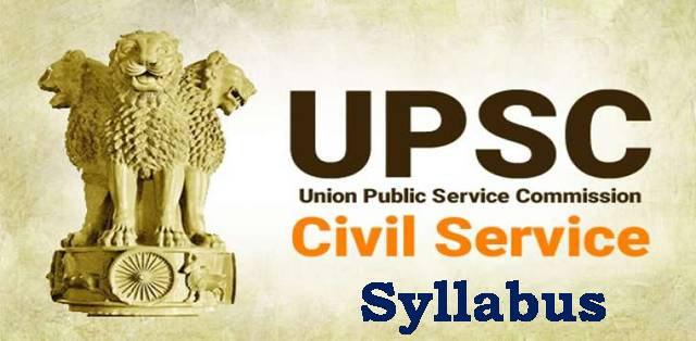 Upsc Syllabus Pdf In English
