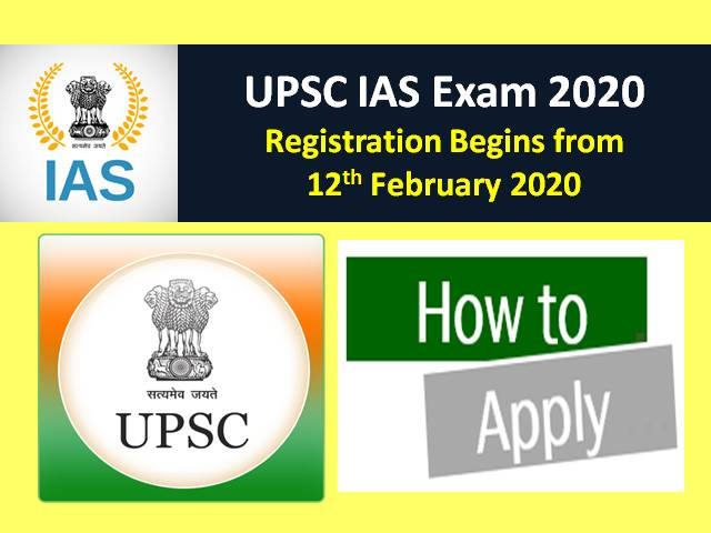UPSC IAS 2020 Registration ends on 3rd March @upsconline.nic.in: Check How to Apply Online!