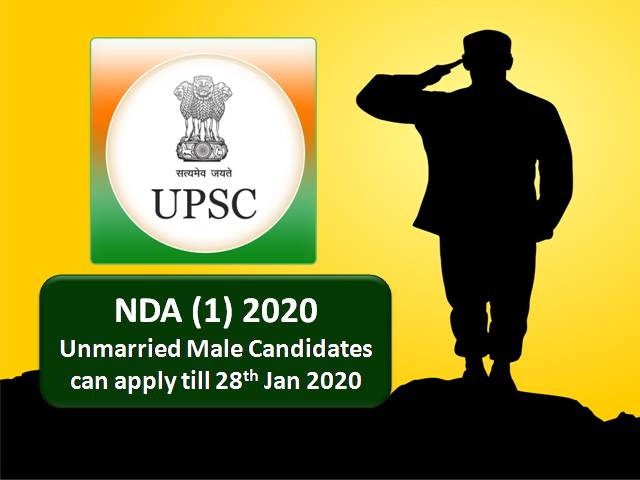 UPSC NDA 2020 Online Registration closes on 28 Jan: Know how to apply online!