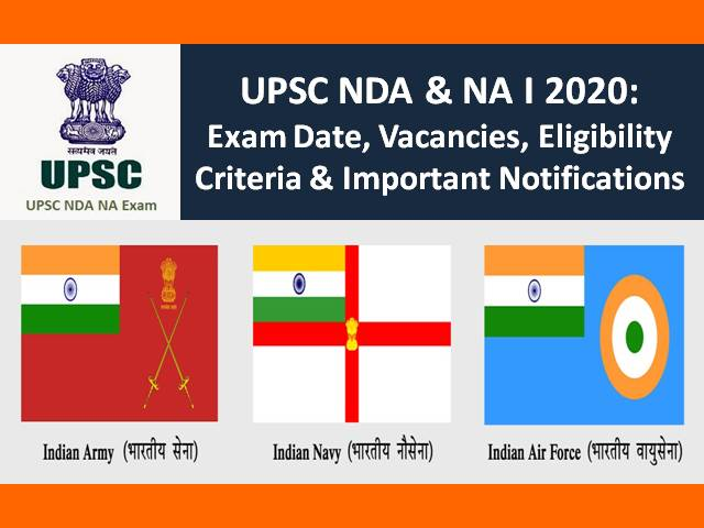 UPSC NDA 2020 Exam Postponed due to COVID-19 Lockdown: Check Updates, Exam Date, Admit Card, Vacancies & Other Notifications