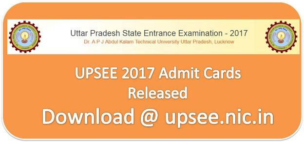 UPSEE 2017: Admit card for paper 5 to paper 11 released after few days delay