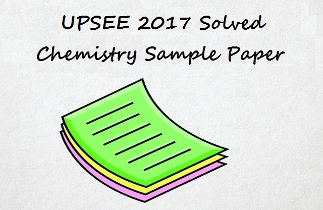 UPSEE 2017, Sample Paper, UPSEE