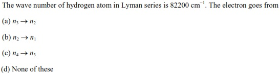 UPSEE Atomic Structure Question 2