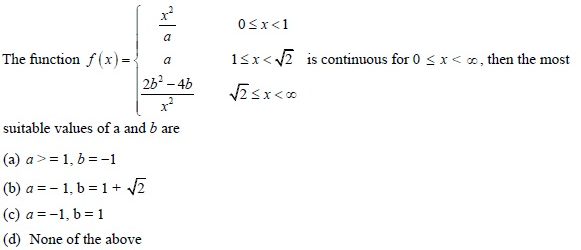 UPSEE Continuity and Differentiability Q2