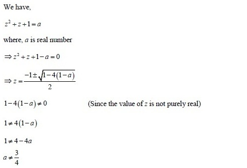 UPSEE Complex number Solution 1