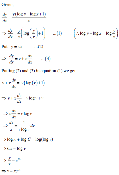 UPSEE Differential Equation Solution 3
