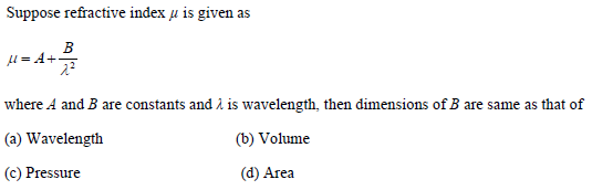UPSEE Dimension and Measurements Important Question 2