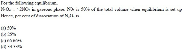 UPSEE Equilibrium Question 4