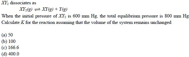 UPSEE Equilibrium Question 5