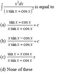 UPSEE Integrals Question 2
