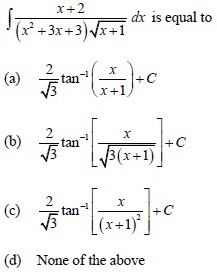 UPSEE Integrals Question 3