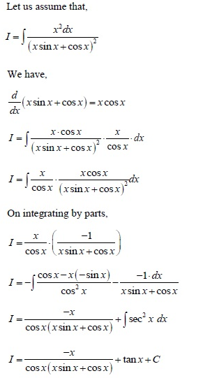 UPSEE Integrals Solution 2