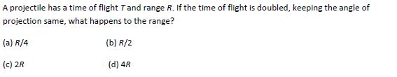 UPSEE Kinematics question 5