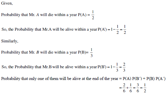 UPSEE Probability Solution 4