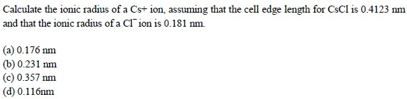 UPSEE Solid State Question(3)