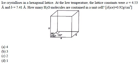 UPSEE Solid State Question(4)
