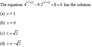 UPSEE Theory of equations question 4