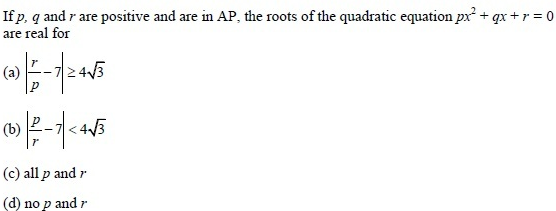 UPSEE Theory of equations question 5