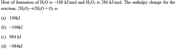 UPSEE Thermodynamics Question 4