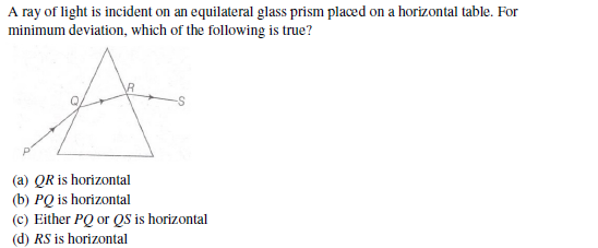 UPSEE ray optics question 1