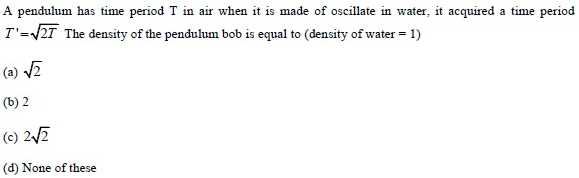 UPSEE SHM Question 3