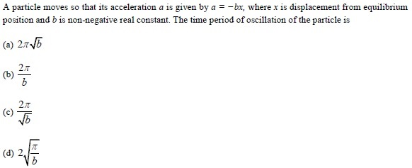 WBJEE SHM Question 4