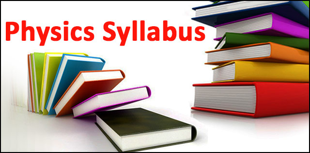 UPSEE/UPTU Examination 2018: Syllabus