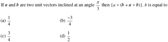 UPSEE Vectors Question 1