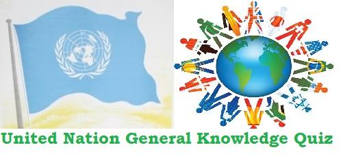 United-Nations Organisation Quiz