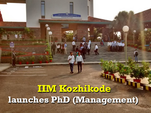 IIM Kozhikode launches PhD (Management)