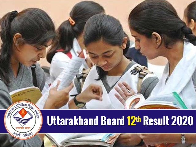 Uttarakhand Board 12th Result 2020