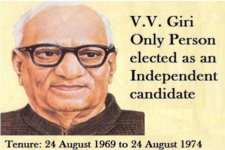 President V V Giri