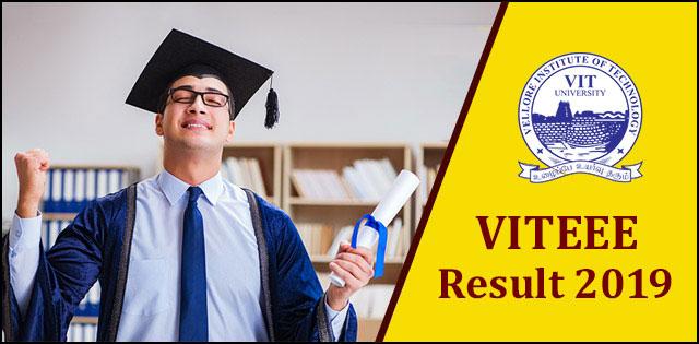 VITEEE 2019 Result: Check VITEEE 2019 Counselling Procedure & Dates