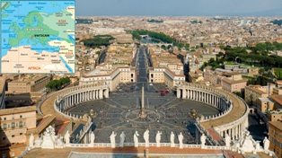Vatican City the smallest country in the world