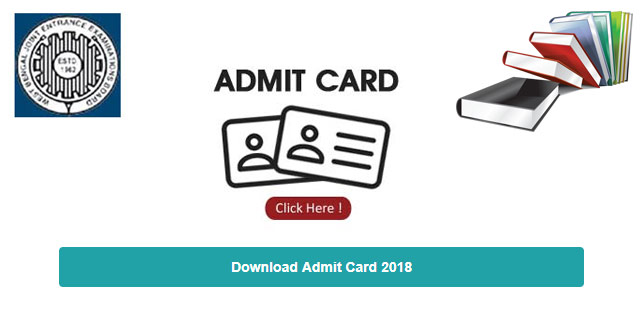 WBJEE 2018  Admit Card Released, Download Now @ wbjeeb.nic.in