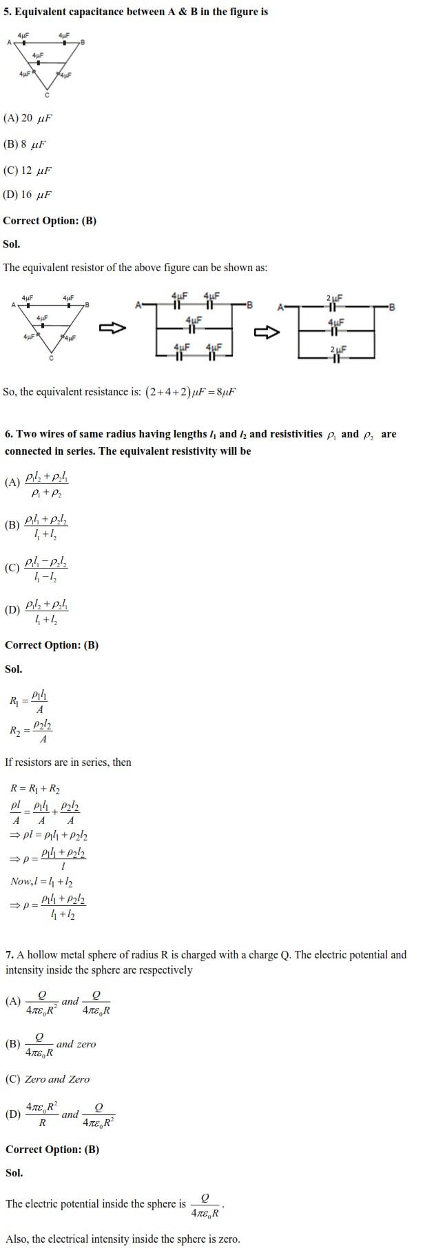 WBJEE, Physics
